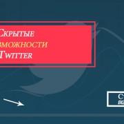 возможности Twitter