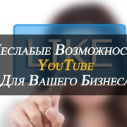 Возможности Youtube